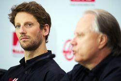 Ромен Грожан, Haas F1 Team и Джин Хаас, Haas F1 Team
