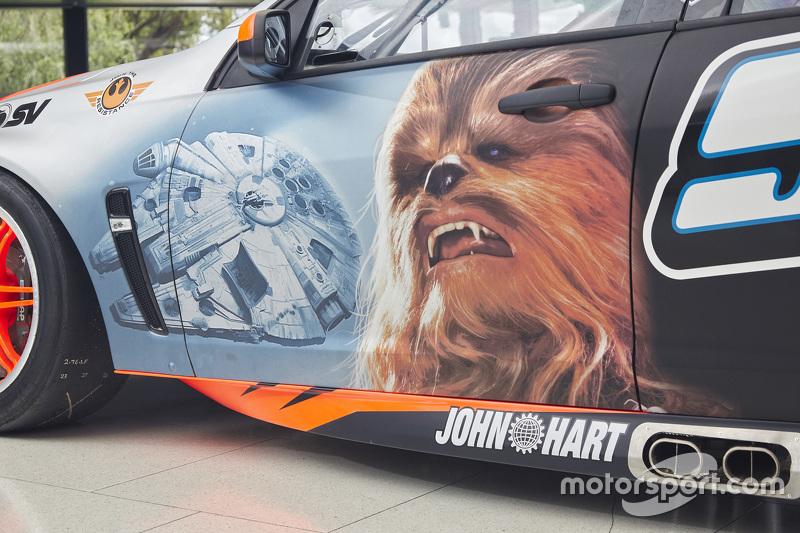 Livrée spéciale Star Wars pour Holden Racing Team en 2015