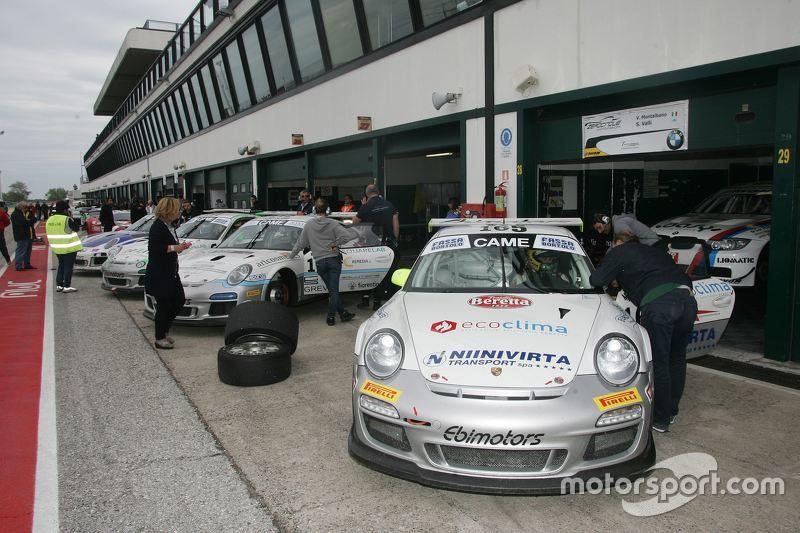 Porsche 997 Cup #165, Sabino De Castro, Valori, Ebimotors