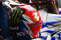 Casco de Romain Febvre, Equipo Frances