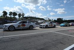 #78 Racers Edge Motorsports Ford Mustang 302R: Bob Michaelian, Nick Galante and #57 Racers Edge Moto