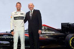 Jenson Button, McLaren, mit Ron Dennis, McLaren-Geschäftsführer