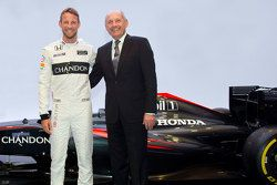 Jenson Button, McLaren ve Ron Dennis, McLaren Chairman & Baş Yöneticisi