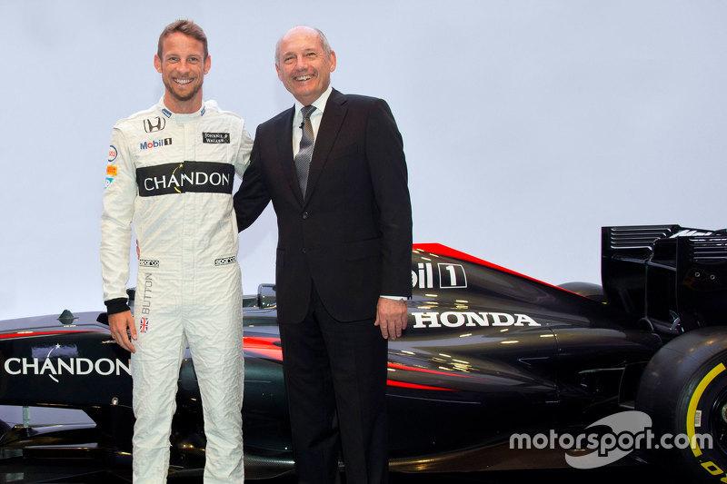 McLaren : Jenson Button et Ron Dennis