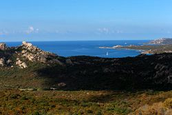 Corsica uitzicht