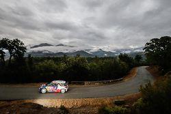 Stéphane Lefebvre y Stéphane Prévot, Citroën DS3 WRC, Citroën World Rally Team