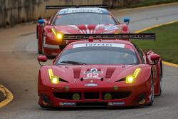 #62 Risi Competizione Ferrari F458: Pierre Kaffer, Giancarlo Fisichella, Toni Vilander