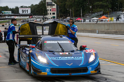 #90 VisitFlorida.com Racing Corvette DP: Річард Вестбрук, Майкл Валіанте, Майк Роккенфеллер