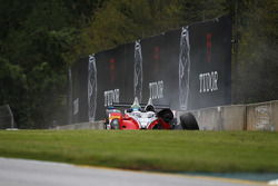 Unfall von #38 Performance Tech Motorsports ORECA FLM09: James French, Conor Daly, Jerome Mee