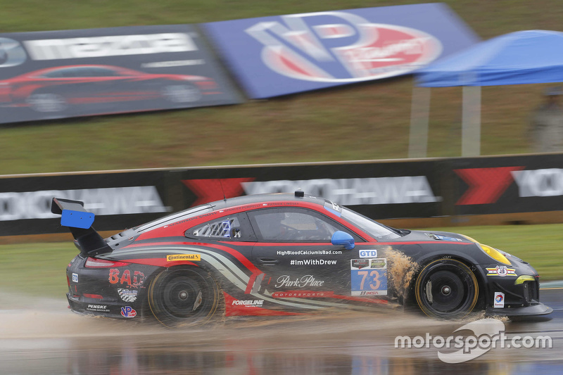 #73 Park Place Motorsports Porsche 911 GT America : Patrick Lindsey, Spencer Pumpelly, Madison Snow