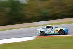 #25 Freedom Autosport Mazda MX-5: Britt Casey Jr., Tom Long