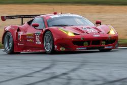 #62 Risi Competizione Ferrari F458 : Pierre Kaffer, Giancarlo Fisichella, Toni Vilander
