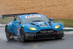 #007 TRG-AMR Aston Martin V12 Vantage: Kuno Wittmer, Christina Nielsen, Brandon Davis