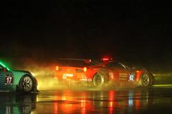 #62 Risi Competizione Ferrari F458: Pierre Kaffer, Giancarlo Fisichella, Toni Vilander, #17 Team Falken Tire Porsche 911 GT3 RSR: Wolf Henzler, Bryan Sellers, Patrick Long