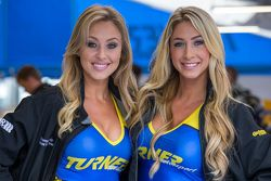 Lovely Turner Motorsport grid girls