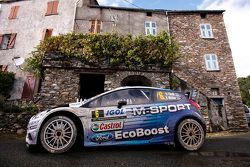 Ott Tanak y Molder Raigo, M-Sport Ford Fiesta WRC