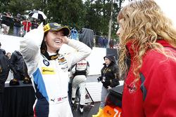 GS ganador de la carrera # 46 Fall-Line Motorsports BMW M3: Ashley Freiberg