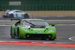 #63 GRT Grasser Racing Team Lamborghini Huracan GT3: Patrick Kujala, Mirko Bortolotti