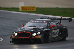 #83 Bentley Team HTP Bentley Continental GT3: Max van Splunteren, Jules Szymkowiak