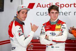 Kelvin van der Linde, C. Abt Racing and Jordan Lee Pepper, C. Abt Racing