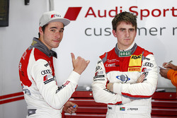 Kelvin van der Linde, C. Abt Racing and Jordan Lee Pepper, C. Abt Racing