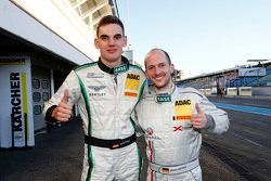 Luca Stolz, Bentley Team HTP, dan Frank Kechele, Lambda Performance