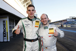 Luca Stolz, Bentley Team HTP and Frank Kechele, Lambda Performance
