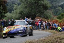 Francois Delecour and Dominique Savignoni, Porsche 911 GT4