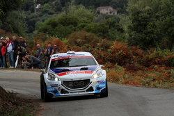 Craig Breen y Scott Martin, Peugeot 208 T16 R5