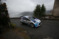 Stéphane Sarrazin y Jacques Renucci, Ford Fiesta WRC