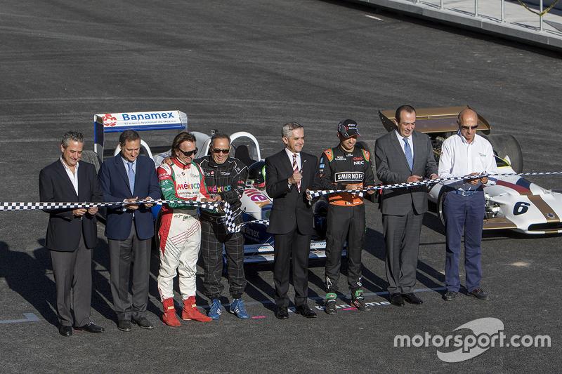 Alejandro Soberón, Emerson Fittipaldi, Héctor Rebaque, Miguel Angel Mancera, Sergio Pérez, Jo Ramírez