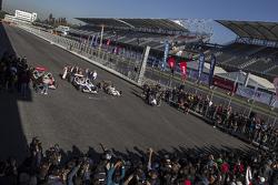 Inauguration de l'Autodromo Hermanos Rodriguez