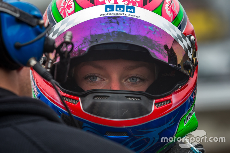 IMSA Christina Nielsen #7 TRG-AMR Aston Martin Vantage GT3