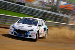 Janis Baumanis, Hansen Talent Development Peugeot 208