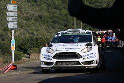 Elfyn Evans et Daniel Barrit, M-Sport Ford Fiesta WRC