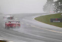 Racen in de regen