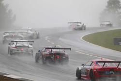 Спенсер Пампелли, Патрик Линдси и Мэдисон Сноу, Park Place Motorsports Porsche 911 GT America