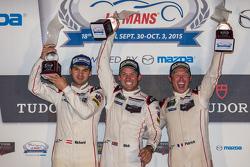 Die Gesamtsieger, #911 Porsche North America Porsche 911 RSR: Patrick Pilet, Nick Tandy, Richard Lie