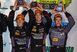 GTD winners #73 Park Place Motorsports Porsche 911 GT America: Patrick Lindsey, Spencer Pumpelly, Madison Snow