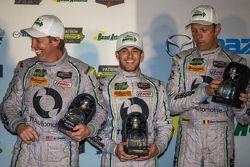 GTD third place finishers #93 Riley Motorsports Dodge Viper SRT: Al Carter, Cameron Lawrence, Marc G