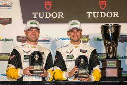 North American Endurance Challenge GT winners Jan Magnussen, Antonio Garcia, Corvette Racing