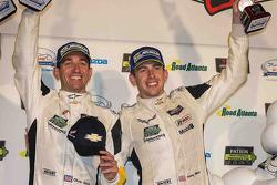 GTLM-Podium: 3. Oliver Gavin, Tommy Milner, Corvette Racing