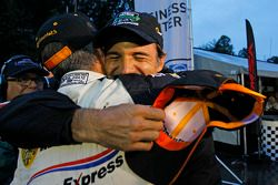 P class winners Joao Barbosa and Christian Fittipaldi, Action Express Racing