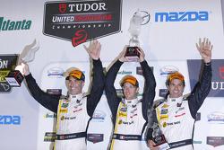 Gesamtpodium: 2. Joao Barbosa, Christian Fittipaldi, Sébastien Bourdais, Action Express Racing