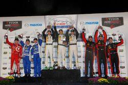 P podium: winners Sébastien Bourdais, Christian Fittipaldi, Joao Barbosa, second place Scott Pruett, Joey Hand, Scott Dixon, third place Eric Curran, Dane Cameron, Max Papis