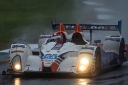 #54 CORE autosport Oreca FLM09: Jon Bennett, Colin Braun, Anthony Lazzaro