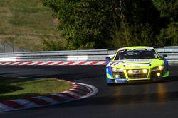 #44 TwinBusch Motorsport Audi R8 LMS ultra: Marc Busch, Dennis Busch