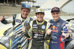 KazananTanner Foust, Andretti Autosport Volkswagen, ikinci Joni Wiman, Olsbergs MSE Ford, üçüncü Sco