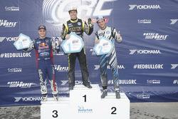 Winner Tanner Foust, Andretti Autosport Volkswagen. Second place Scott Speed, Andretti Autosport Vol