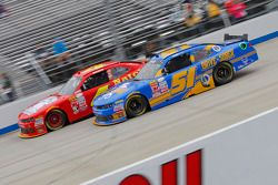 Jeremy Clements, Jeremy Clements Racing Chevolet and Ross Chastain, JD Motorsports Chevrolet